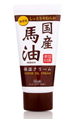日本 Loshi 北海道马油护手霜45g保湿滋润补水防干裂修护嫩肤