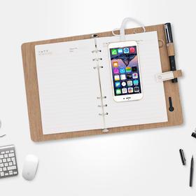 能当钱夹、充电宝和U盘的多功能笔记本