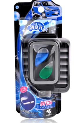 日本小林制药 消臭元车载汽车空气清新剂 除臭剂去烟味车用4.6ml
