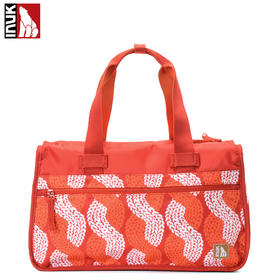 Inuk旅行袋手提旅行包女大容量行李包 短途出差旅行袋健身旅游包