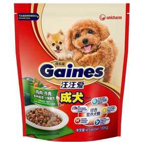 佳乐滋 成犬 鸡肉&牛肉、多种蔬菜、小鱼配方(1.6公斤)