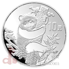 1987年1盎司熊猫银币【收藏品  金银币  钱币  纪念品  礼品  熊猫币  生肖  狗年礼物  艺术】