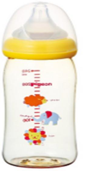 贝亲宽口PPSU塑料奶瓶 动物 240ML