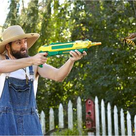 体验大炮打苍蝇的快感:美国正品bug-a-salt霰弹创意盐枪打苍蝇枪 【含镭射瞄准器】