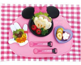 日本进口锦化成disney迪斯尼米奇宝宝食物杯零食餐盘餐具碗杯勺子