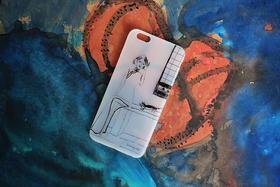 iPhone7手机壳套苹果7plus软胶磨砂6s创意旗袍 慵懒午后 包邮