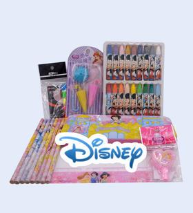 联众迪士尼多层文具盒惊喜礼包套装 儿童礼物