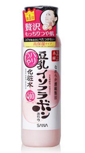 日本原装 SANA豆乳Q10美肌弹力光泽保湿化妆水200ml