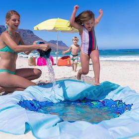 """德国 EverEarth 海洋魔毯,家用、野餐用、沙滩用,多功能防水防污,打造""""私人海域"""""""
