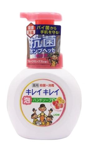 狮王儿童洗手液  果香红色250ml
