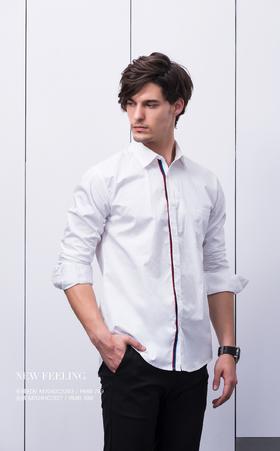 长袖衬衫:M704DC1363¥799; 长裤:M704HC1327¥499