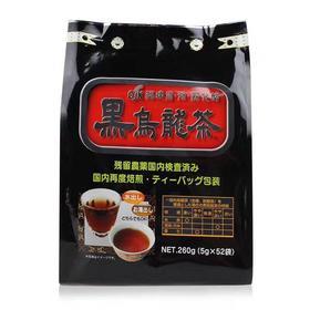 日本OSK黑乌龙茶铁观音红茶叶美容养生花草茶 油切52包奶茶包