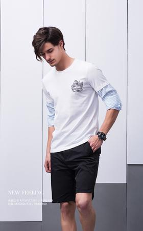 长袖上衣:M704VC1367¥499; 短裤:M703GA1172¥499