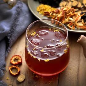 桂花酸梅汤80g*6袋,古法天然乌梅山楂桑葚原料包