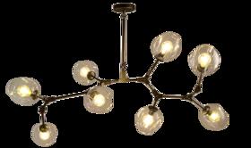 客厅8头吊灯