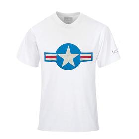 军武设计师款T恤 美国机徽