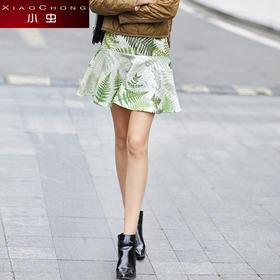 【精选特惠】【骆驼子品牌-小虫】小虫夏装新款欧美时尚印花半身裙女裙短裙修身显瘦百搭裙子女XC4QBQ070