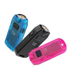 COOYOO酷友UA1高分贝女子防身报警防狼强光迷你手电筒 USB充电