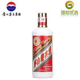 优选|贵州茅台迎宾43度 酱香型白酒/500ml 门店自提