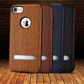 XO枫雅 苹果7手机全包套iPhone7 plus保护壳支架复古商务男女新款 磁吸 自带支架