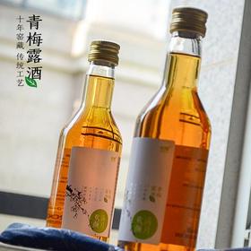不二和贯 青梅露酒(十年窖藏。传统工艺天然泉水酿造 无香精色素防腐剂)