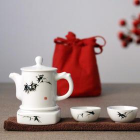 吴昌硕系列旅行茶具套装