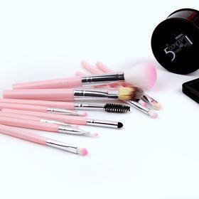 泰国 dyt化妆刷套装11支彩妆眼影腮红刷细软刷毛初学便携彩妆工具