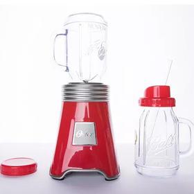 波仔杯搅拌机 Oster 奥士达 3色可选,轻松粉碎食材,搭配多用途梅森罐,杯盖可更换