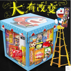 进口零食大礼包组合送女友生日一整箱