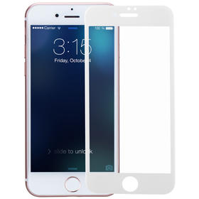 momax摩米士 iphone7钢化膜全屏钢化膜苹果7plus全覆盖软硬玻璃膜