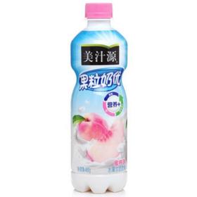 美汁源果粒奶优水润蜜桃风味(瓶装450ml)