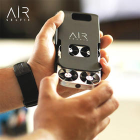 AirSelfie 袖珍飞行相机无人机 智能航拍飞行器 手机遥控(手机壳版 iPhone6/6P 7/7P 三星S7适用)