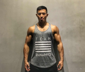 GYMWAVE夏季健身背心 舒适耐洗彰显肌肉线条