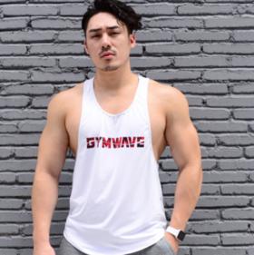 GYMWAVE 迷彩健身背心 宽松舒适有弹性
