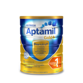 【包邮】Aptamil爱他美金装牛奶粉 900g*3 罐装