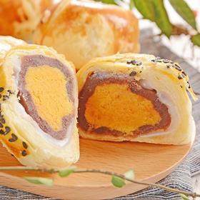【三天后发货,下单现做】黎师手工海鸭蛋黄酥(2盒/件,55g*6枚/盒,发货三天内生产日期)