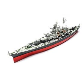 【军武定制限量版】军武定制  1:700提尔皮茨号战列舰模型