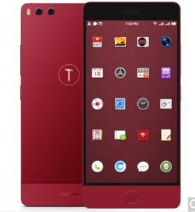 锤子 坚果Pro 128GB 酒红色 全网通 移动联通电信4G手机 双卡双待