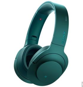 索尼(SONY)h.ear on Wireless NC MDR-100ABN 无线降噪立体声耳机(翠绿)