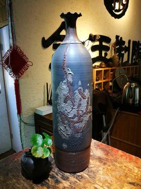 建水紫陶  纯手工工艺花瓶 (收藏级)