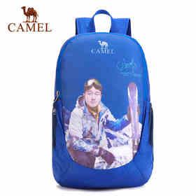 骆驼户外折叠背包 19L越野徒步户外时尚休闲双肩包A7S3C3162