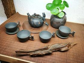 建水紫陶  工艺茶壶