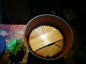 建水紫陶储茶缸