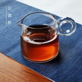 WEIS唯诗加厚公道杯玻璃茶漏套装分茶器茶海大公杯功夫茶具