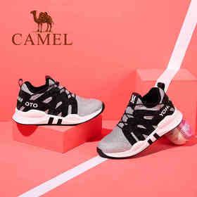 【领券买 更划算】Camel/骆驼女鞋 秋季新款 舒适耐磨运动鞋女 防滑透气运动鞋A73025603