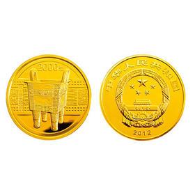 2012中国青铜器第一组5盎司金币