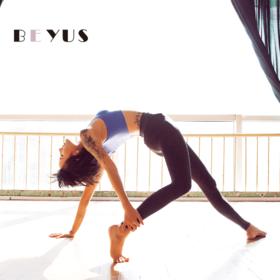 Ubras【BEYUS】大弹力轻型塑形美腿时尚提臀收腹打底运动长裤
