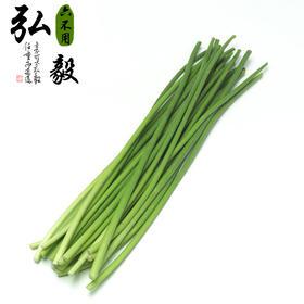 【弘毅六不用生态农场】六不用 新鲜蒜苔(2斤装)