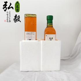 """【弘毅六不用生态农场】""""六不用""""压榨大豆油2瓶,共1000ml"""