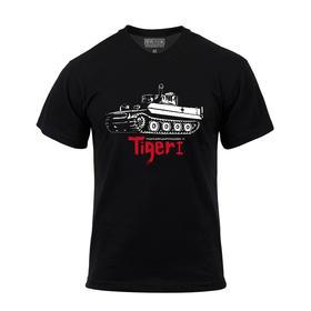 【装甲精英】 德国虎式tiger黑色主题T恤